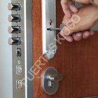 Puerta Acorazada KXXI abierta 02