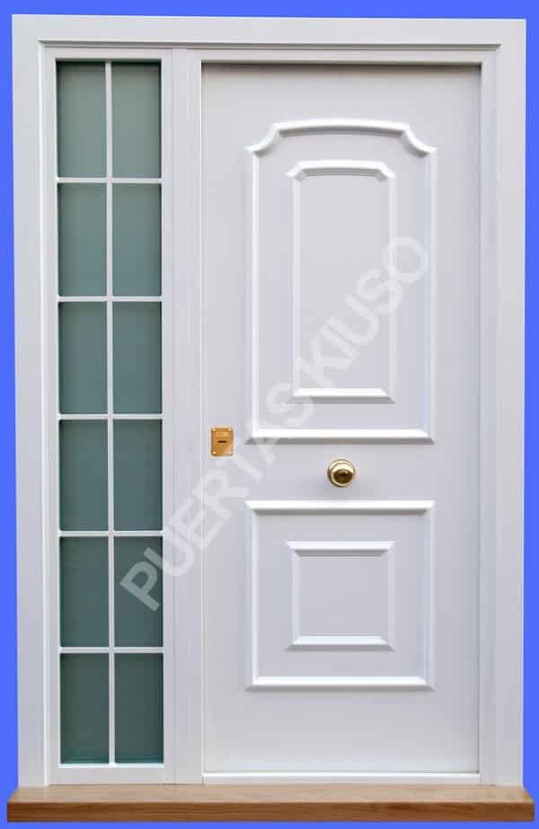 Puertas muy especiales de seguridad fabricamos tu puerta for Paneles de aluminio para puertas