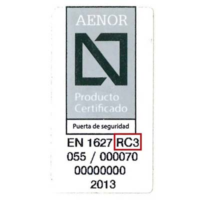 AENOR Grados G3 400x400